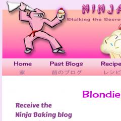 Ninja Baking Blog