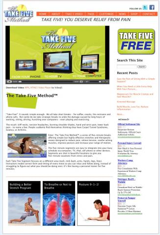 The Take Five Method Site